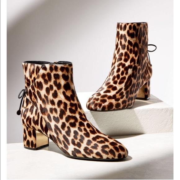 407b2b2af503 Women s Laila Leopard Print Calf Hair Booties. M 5a446e2c9a945542db0bc761
